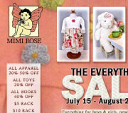 Sales promotion for Mimi Rose.