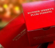 Website and logo design for Mother Sperry's Plum Pudding